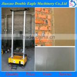 automatic plastering machine for wall/auto rendering machine price/plaster machine used in buildings