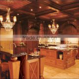 Bisini Customized American Style Wooden Kitchen Cabinet/American Standard Kitchen Furniture