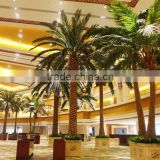 Chinese fake coconut tree decoration hotle manufacture longlife time artificial outdoor palm trees