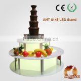 INquiry about CHOCOLAZI ANT-8145 Acrylic Color LED BASE of Led stand of chocolate fountains