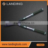 633301 650-830mm long telescopic oval Al alloy handle PP and TPR grip long handled pruning shear