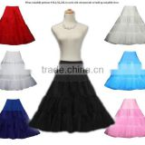 pettiskirts|underskirt for Rockabilly dress colorful 3 layers petticoat streach Cheap adult pettiskirts