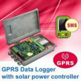 GPRS Data Logger with solar power controller
