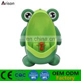 Children PP frog urinal cartoon animal wall urinal baby piss training urinal toy