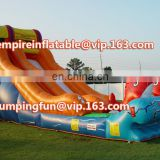 Medium Size Inflatable Cute Fish Fantastic Slide for Sale ID-SLM002