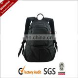 Popular black custom brand backpack bag