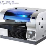 SLJET SD TF card A2 uv flatbed uv inkjet printer printing machine for sale