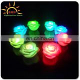 beautiful LED water activated light up rose for party