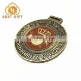 Two Color Plating Commemorative Award Medal For Souvenir