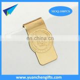 Promotional gifs customer Designs logo metal gold diamond paper clips