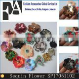 New Look 3D Sequin Flower Patch for Clothing and Shoes