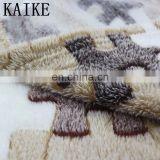 Custom 100% polyester super soft korean quality new born baby mylar blanket