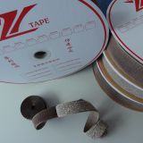 Silvered hook and loop conductive fastener tape for prevent the electronic information leakage of protective equipment