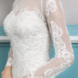 White Wedding Dresses Baratos Mermaid Lace