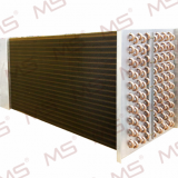 Nickel-copper finned heat exchanger