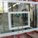 Basketball board glass