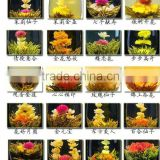 different blooming flower tea,artistic blossom flower tea ,chinese flower tea ball                                                                         Quality Choice