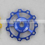 ypu09a-06 light weight derailleur pulley /pulley bike /aest pulley