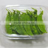 Disposable PET salad box, clear food container, take away food package container, plastic vegetable cup