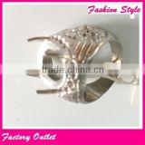 hot selling silver/gold big men indonesia ring stone stainless steel,fashion men's finger rings
