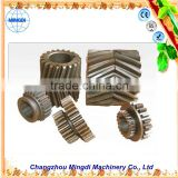used military heavy equipment Custom Helical bevel Gear / Herringbone Gear Assembly Transmission Parts for towing truck