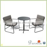 new deisgn modern compact laminate outdoor coffee table and chairs