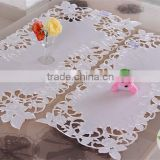 High quality embroidery tablecloth table cloth wedding table cover handmade embroidered table runner restaurant tablecloth