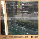 Silver Portoro Marble Slabs, China Black Marble,Silver Dragon Marble