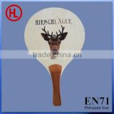 2015 new arrival HIRSCH LAGER Hot sale promotion gift poplar wooden beach tennis racket/beach paddle with tennis ball wholesale