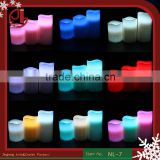 Remote Control Flameless Colour Changing Led Candle Birthday Party Decorations