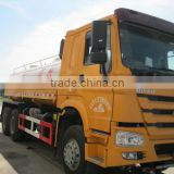 China famous brand SINOTRUK HOWO used water tank truck for azerbaijan