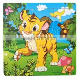 Wooden Tiger puzzles, 12 animals (Chinese zodiac) puzzles, educational puzzles, wooden Jigsaw puzzles,