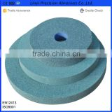 Green silicon carbide grinding wheel 5''