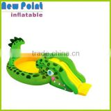 Green crocodile inflatable swimming pool toys , inflatable swimming pools for kids,kids inflatable swimming pool