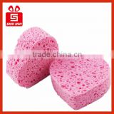 Multi colors Natural Cellulose Sponge Compressed Facial Cellulose Sponges Manufacture