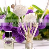 Shenzhen Lihome Rose Scent Air freshener aroma reed diffuser with nice sola rose flowers,100ml,best choice for wedding gift