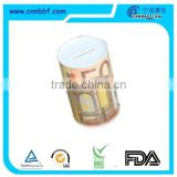 Coin Can Money Box Tin Can Coin Bank Collection Boxes