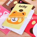 School notebook cute design notepad promotional gifts for kids /memo pad