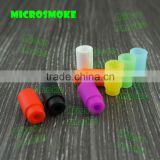 2016 Newest silicone drip tip rubber drip tip wholesale, factory price silicone moth piece