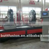 Automatic plastic pipes workshop fitting welding machine to make elbow, tee,cross fittings SHG630/315