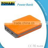 4000mAh 2 USB Power Bank Battery Charger For Phone Tablet LED indicstor light and ON OFF Key