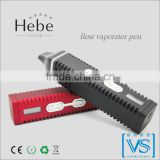 Pen style electronic cigarette Hebe Titan-2 for dry herb with digital display , hebe vaporizer