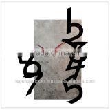 2014 new design wall clock, unique clock, handmade latest wall clock with stone veneer and acrylic numbers