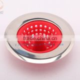 Silicone bathroom drain percolator kitchen sink drain strainer /silicone floor drain filter