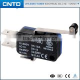 CNTD Compact Design Long Pulley Type 125V 16A Electrical Zippy Limit Micro Switch (CMV-103C)