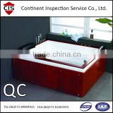 massage bathtub,factory audit/evaluation,quality control,inspection services anywhere in China,testing,QC inspectors