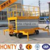 HONTYLIFT Good Quality small Goods Elevator portable Scissor Lift