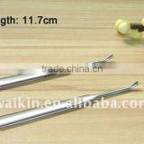 Stainless steel metal cuticle nail pusher