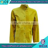 F-3007 different sizes cow split leather safety clothing wholesale,safety protective clothing