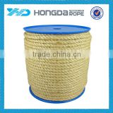 Factory manufacture good quality gardening colored sisal rope 6mm